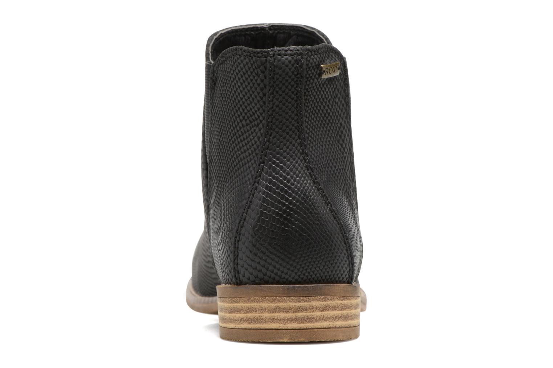 Bottines et boots Roxy Austin II Noir vue droite