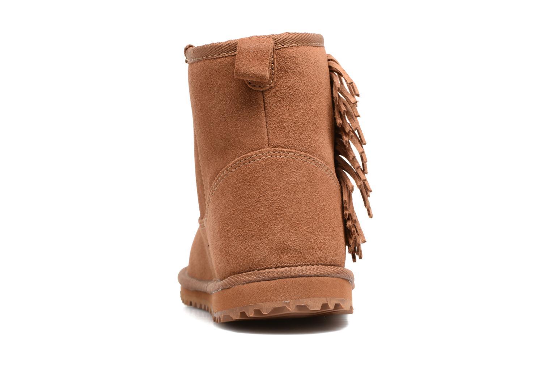 Bottines et boots Roxy Joyce Marron vue droite