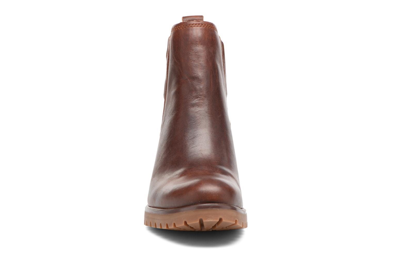 Bottines et boots Timberland Averly Chelsea Marron vue portées chaussures