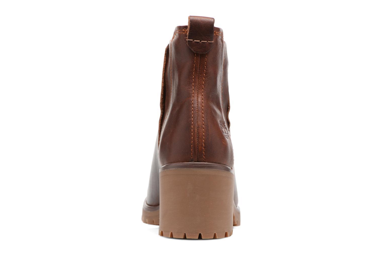 Bottines et boots Timberland Averly Chelsea Marron vue droite