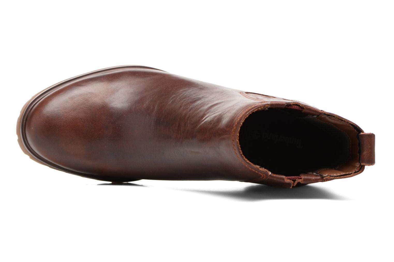 Bottines et boots Timberland Averly Chelsea Marron vue gauche
