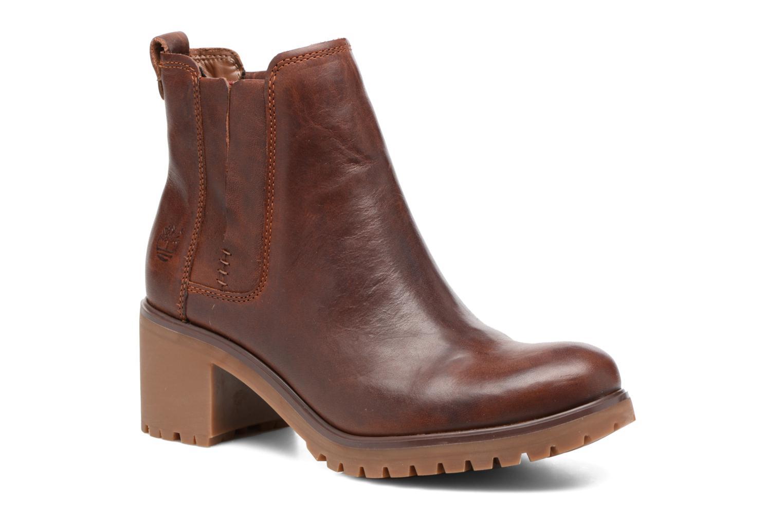 Bottines et boots Timberland Averly Chelsea Marron vue détail/paire