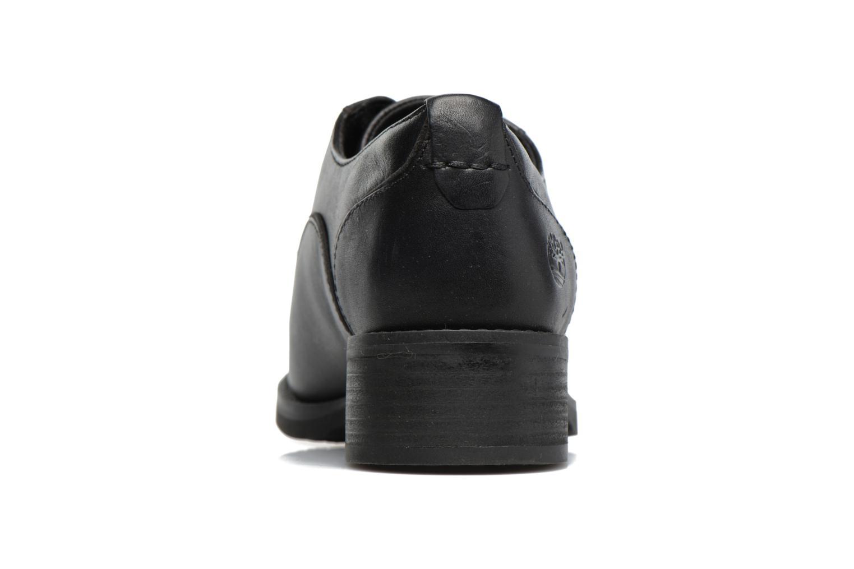 Zapatos con cordones Timberland Beckwith Lace Ox Negro vista lateral derecha
