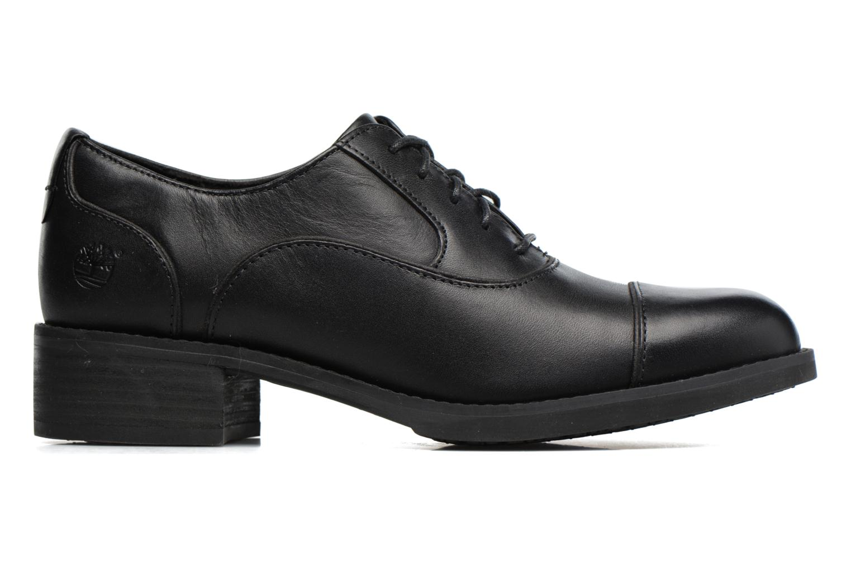Zapatos con cordones Timberland Beckwith Lace Ox Negro vistra trasera