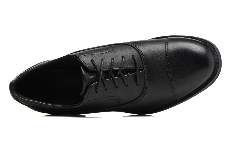 Zapatos con cordones Timberland Beckwith Lace Ox Negro vista lateral izquierda