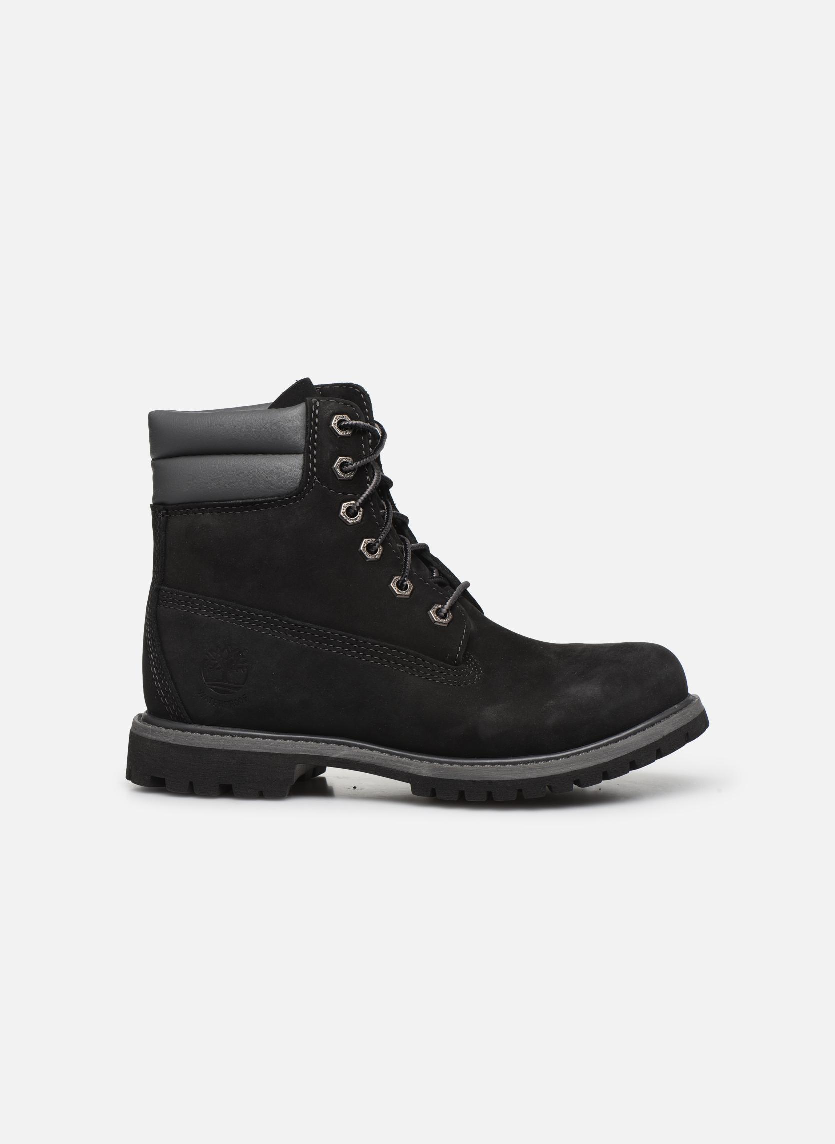 Bottines et boots Timberland Lyonsdale Chelsea Noir vue derrière