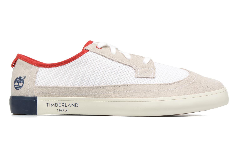 Baskets Timberland Newport Bay Suede Mesh Blanc vue derrière