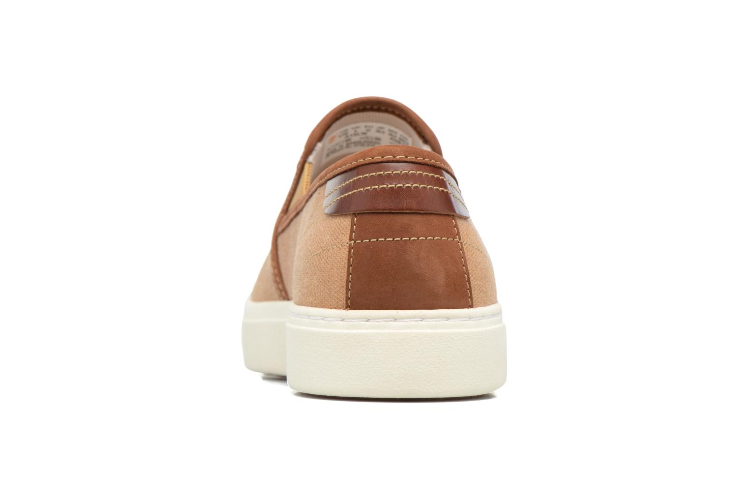 Baskets Timberland Amherst Double Gore Marron vue droite