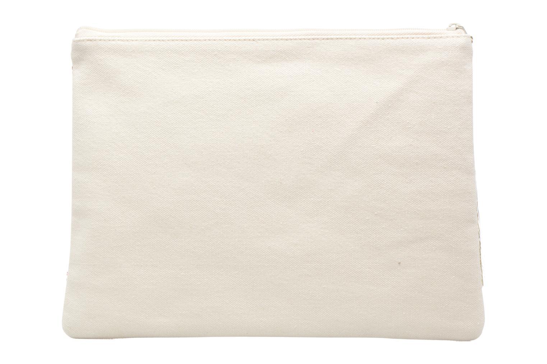 Petite Maroquinerie Petite mendigote Pochette Kit de Survie Blanc vue face