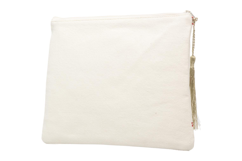 Petite Maroquinerie Petite mendigote Pochette Kit de Survie Blanc vue droite