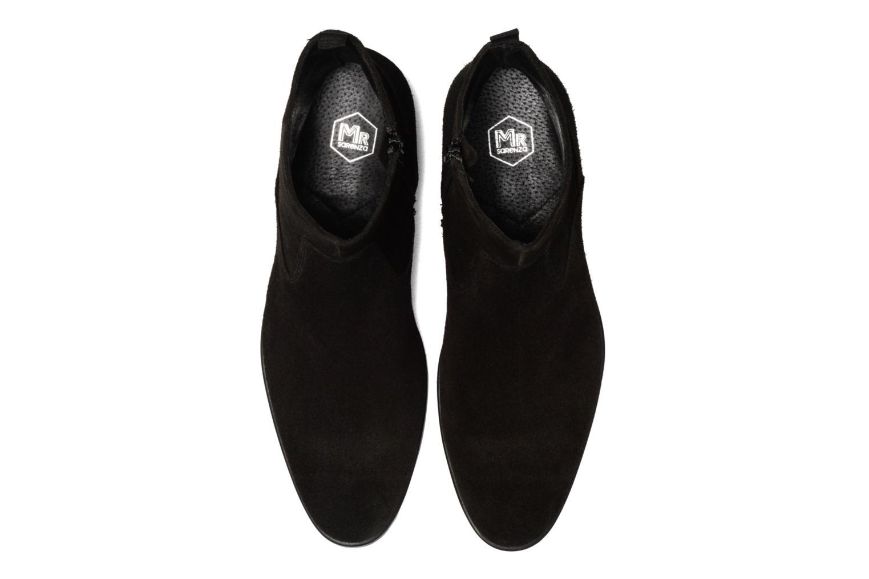 Bottines et boots Mr SARENZA Randy Noir vue portées chaussures