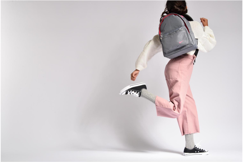 Kids' Nike Classic Backpack Cool grey/black/racer pink