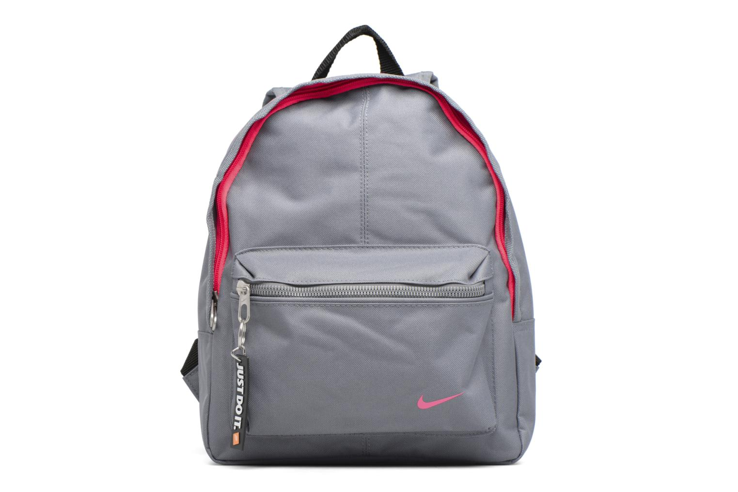 Kids' Nike Classic Backpack Cool grey/black/racer pink