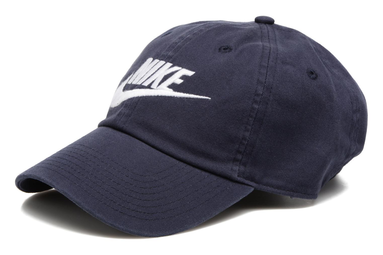 Divers Nike Nike Futura washed Cap Bleu vue détail/paire