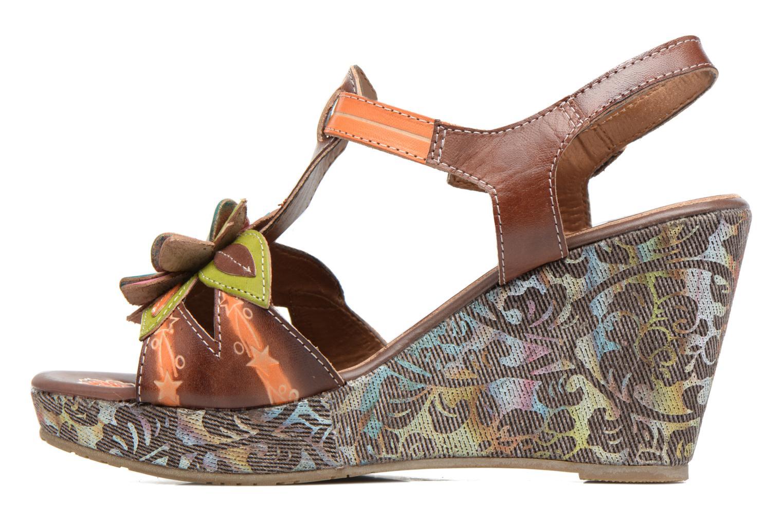 Sandales et nu-pieds Laura Vita Verge Orange vue face