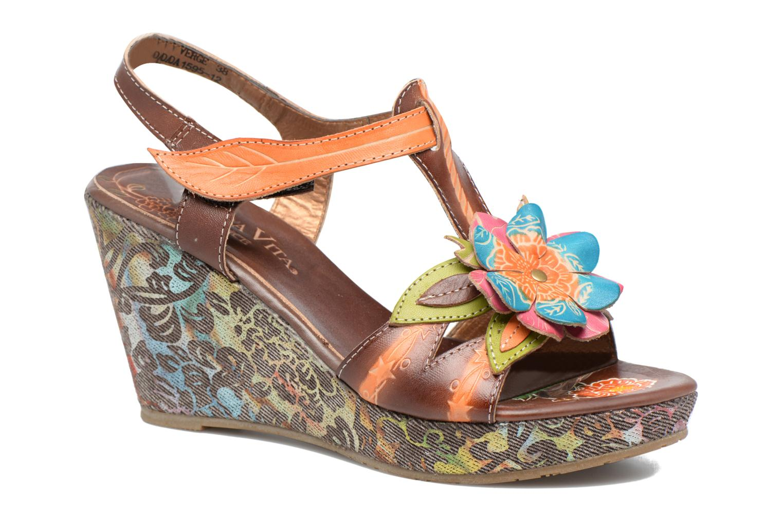 Sandales et nu-pieds Laura Vita Verge Orange vue détail/paire