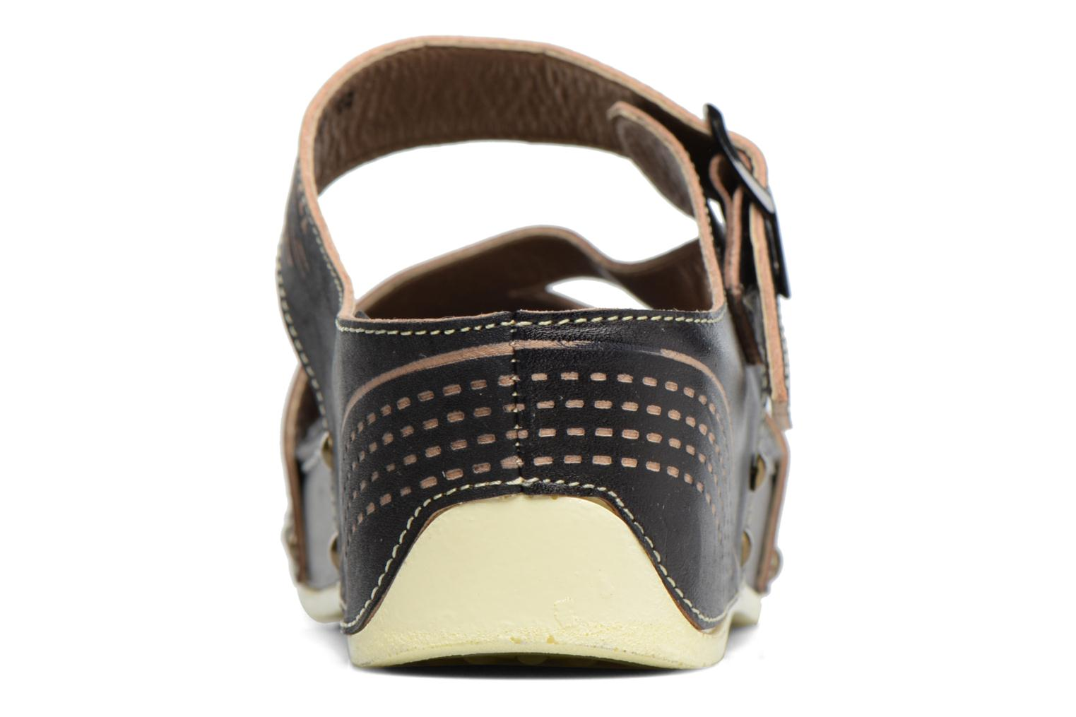 Mules & clogs Laura Vita Vallon Black view from the right