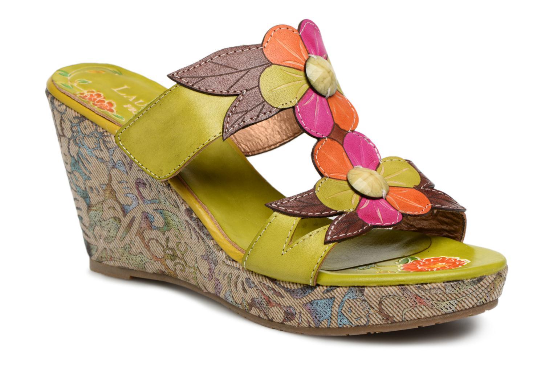 Zapatos promocionales Laura Vita Verdi (Verde) - Zuecos   Cómodo y bien parecido