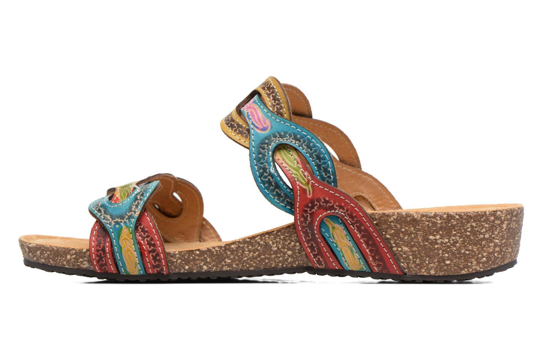Sandales et nu-pieds Laura Vita Valbert Rouge vue face