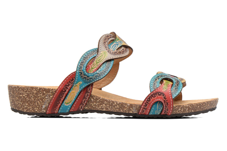 Sandales et nu-pieds Laura Vita Valbert Rouge vue derrière