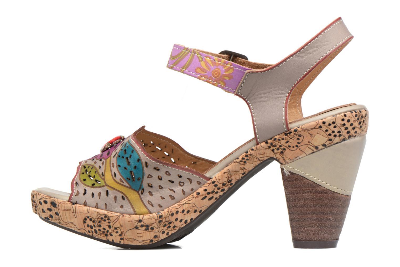 Sandales et nu-pieds Laura Vita Veston Gris vue face
