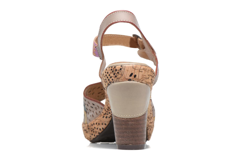 Sandales et nu-pieds Laura Vita Veston Gris vue droite