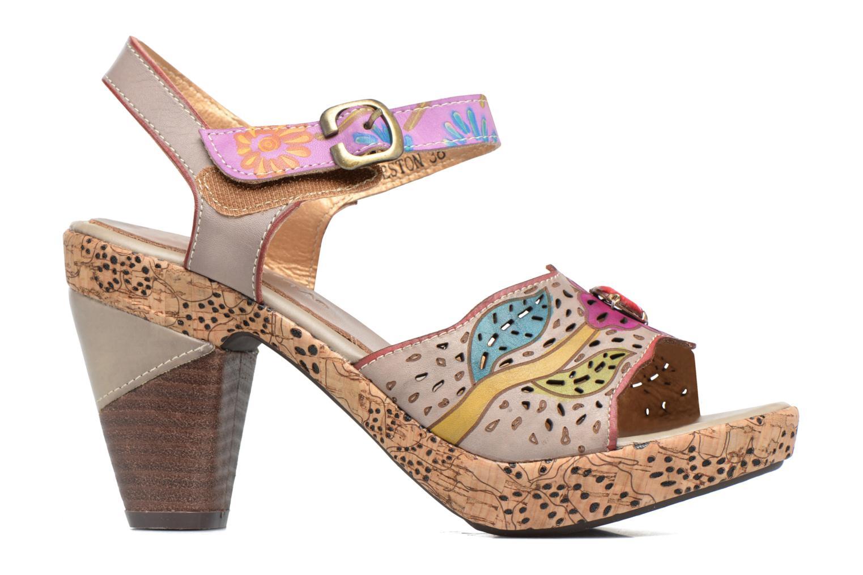 Sandales et nu-pieds Laura Vita Veston Gris vue derrière