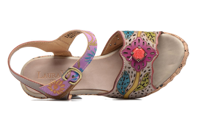 Sandales et nu-pieds Laura Vita Veston Gris vue gauche