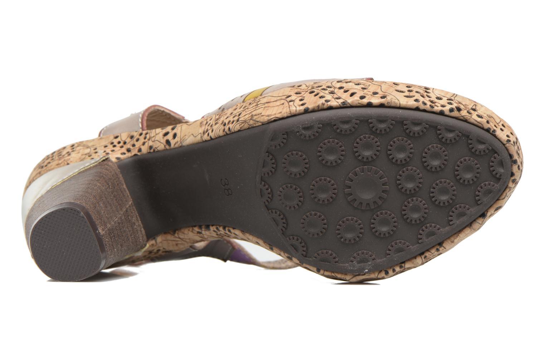 Sandales et nu-pieds Laura Vita Veston Gris vue haut