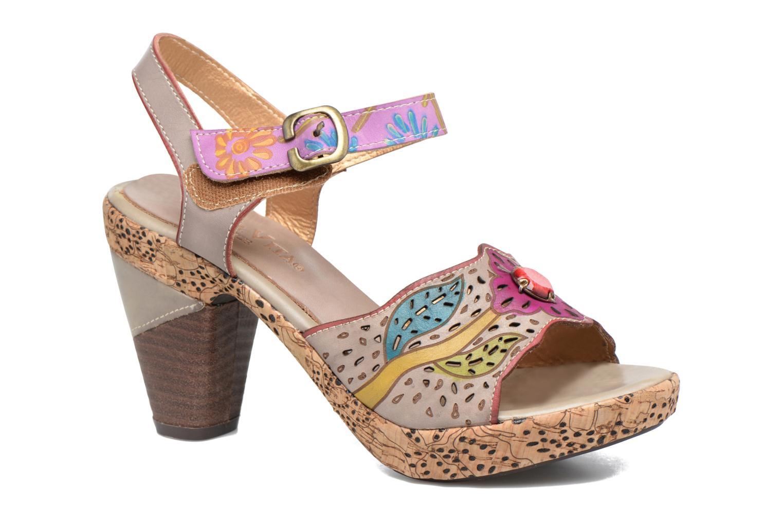 Sandales et nu-pieds Laura Vita Veston Gris vue détail/paire