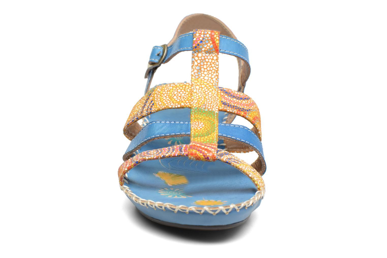 Sandales et nu-pieds Laura Vita Valide Bleu vue portées chaussures