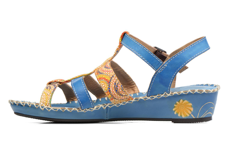 Sandales et nu-pieds Laura Vita Valide Bleu vue face