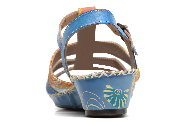 Sandales et nu-pieds Laura Vita Valide Bleu vue droite