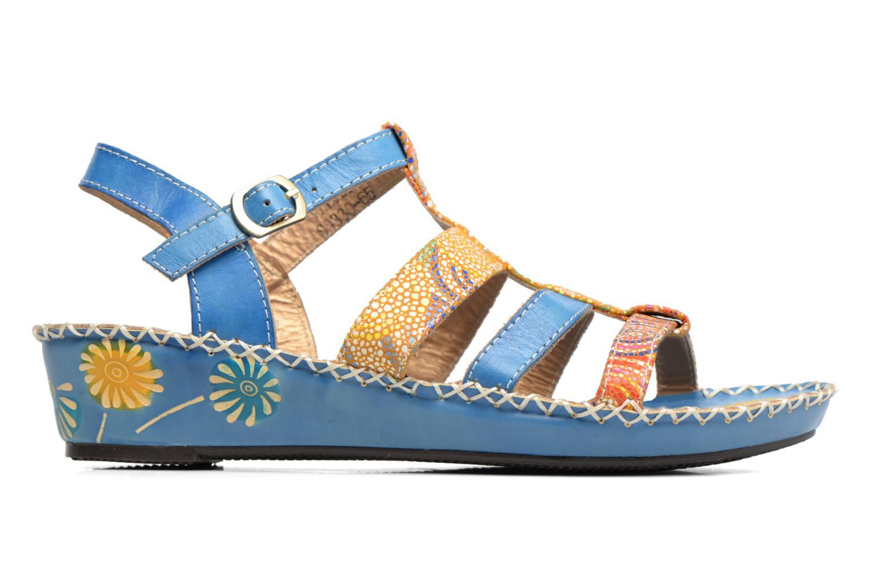 Sandales et nu-pieds Laura Vita Valide Bleu vue derrière