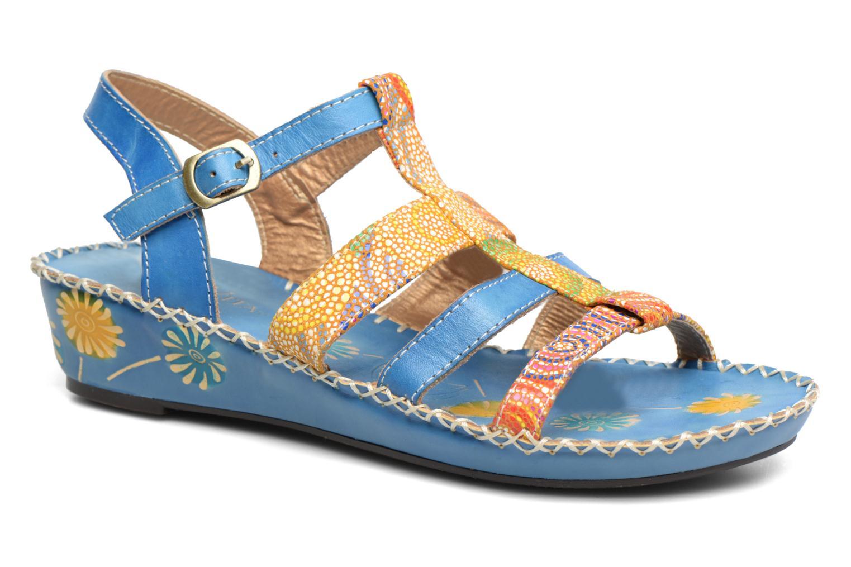 Sandales et nu-pieds Laura Vita Valide Bleu vue détail/paire