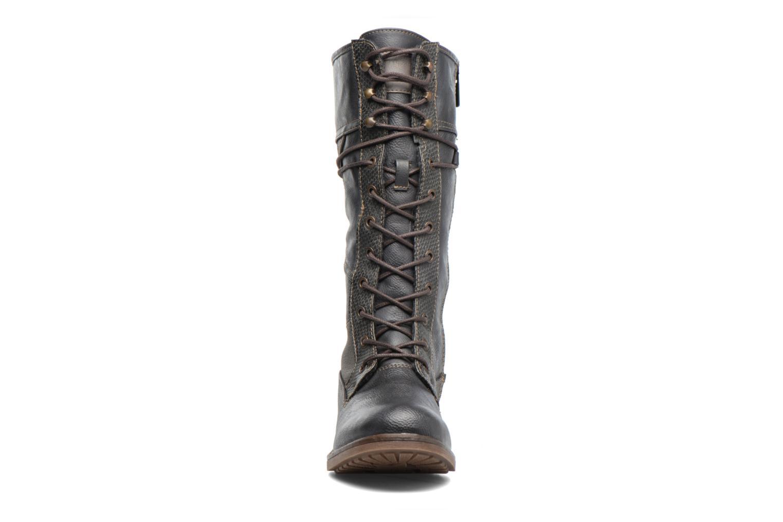 Bottines et boots Mustang shoes Plipse Gris vue portées chaussures