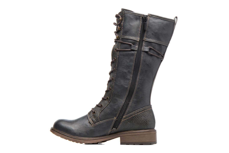 Bottines et boots Mustang shoes Plipse Gris vue face