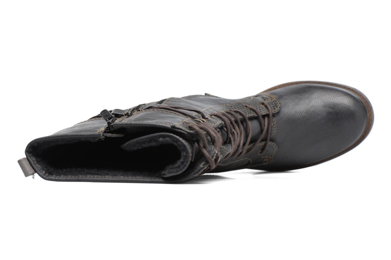 Bottines et boots Mustang shoes Plipse Gris vue gauche