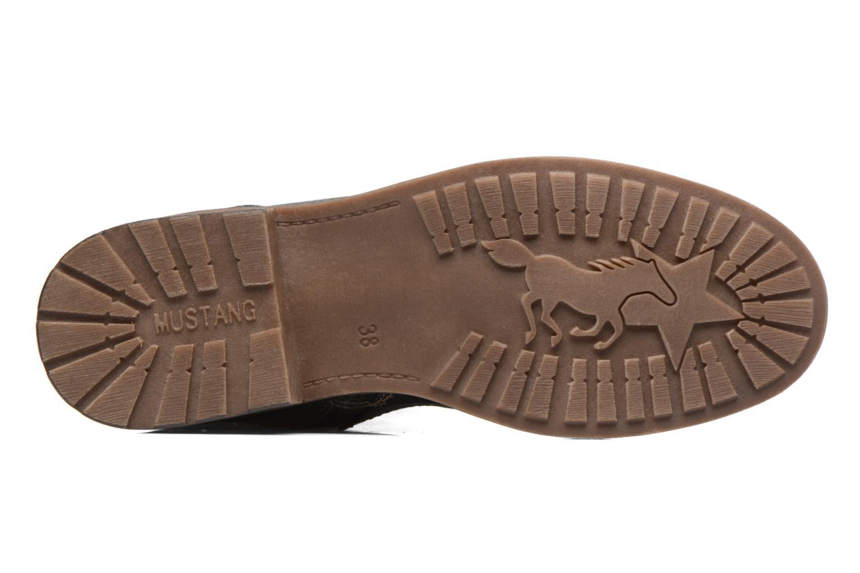 Bottines et boots Mustang shoes Plipse Gris vue haut