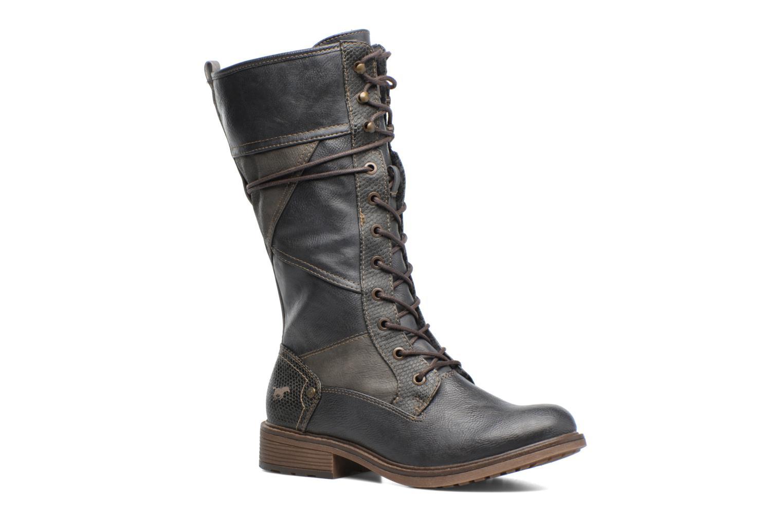 Bottines et boots Mustang shoes Plipse Gris vue détail/paire