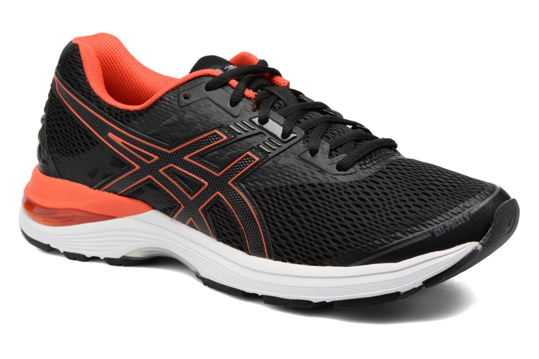 Chaussures de sport Asics Gel-Pulse 9 Noir vue détail/paire