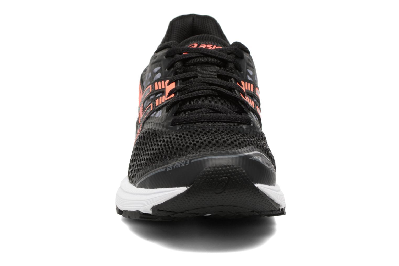Chaussures de sport Asics Gel-Pulse 9 W Noir vue portées chaussures