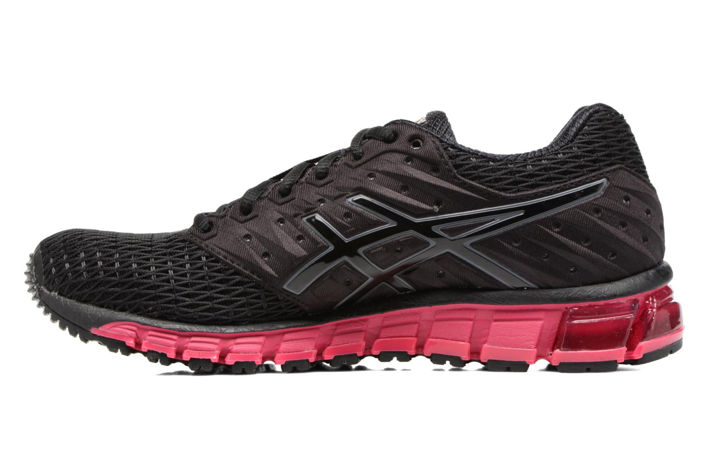 Zapatillas de deporte Asics Gel-Quantum 180 2 W Negro vista de frente