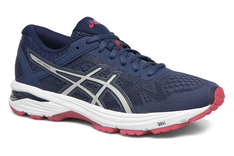 Chaussures de sport Asics GT 1000 6 W Bleu vue détail/paire