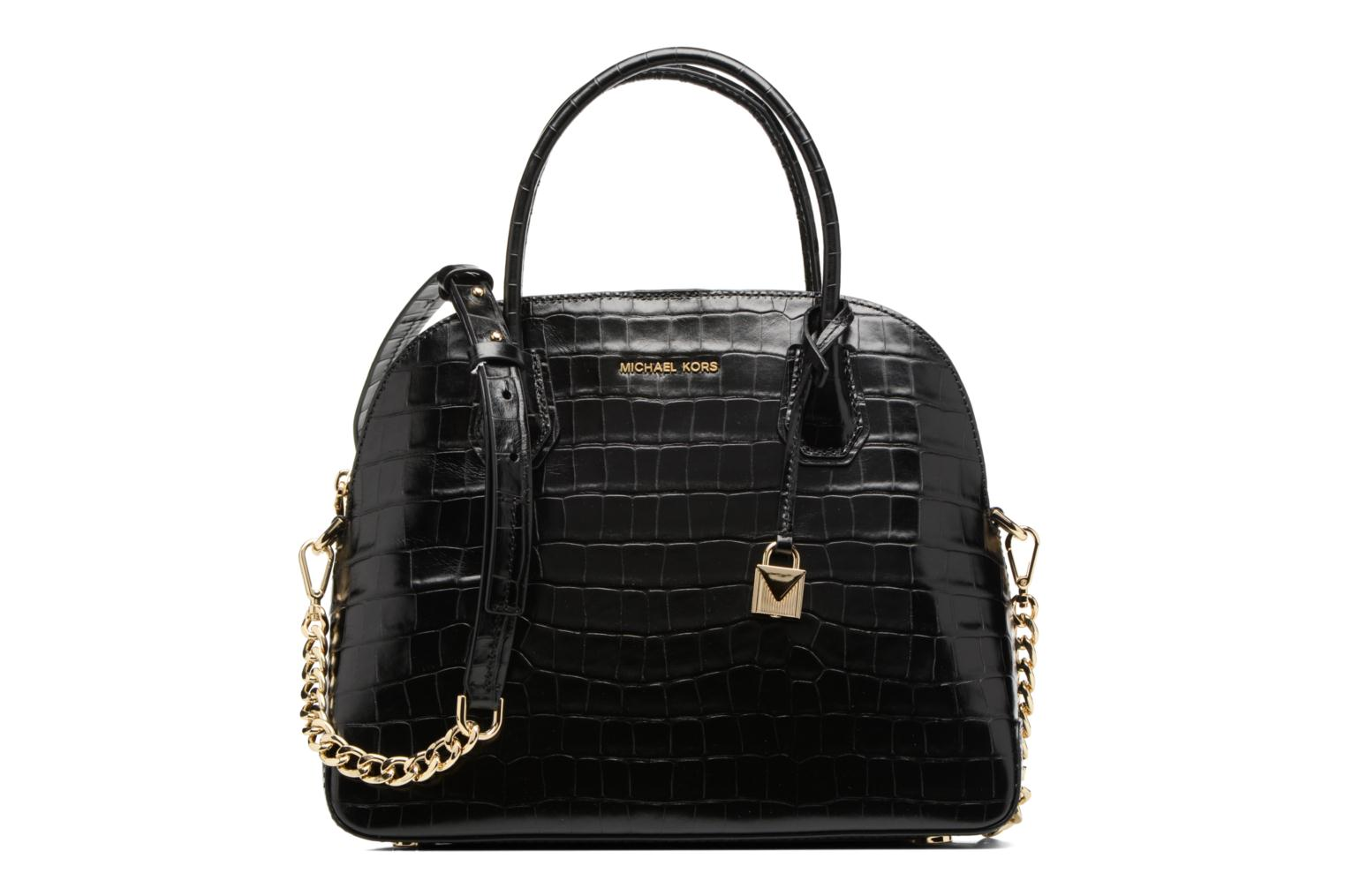 MERCER LG DOME SATCHEL 001 black
