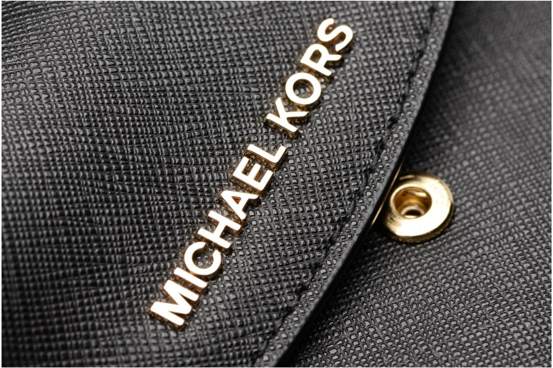 Marroquinería pequeña Michael Michael Kors Portefeuille Trifold SM Negro vista lateral izquierda