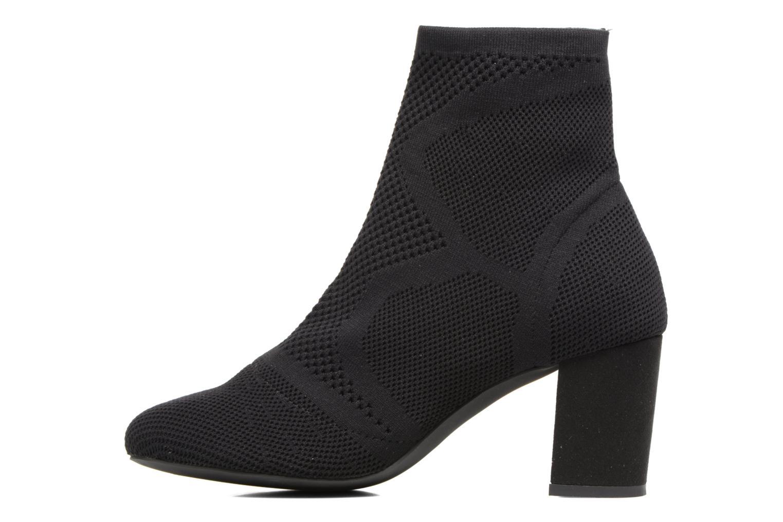 Botines  I Love Shoes THOSET Stretch Negro vista de frente