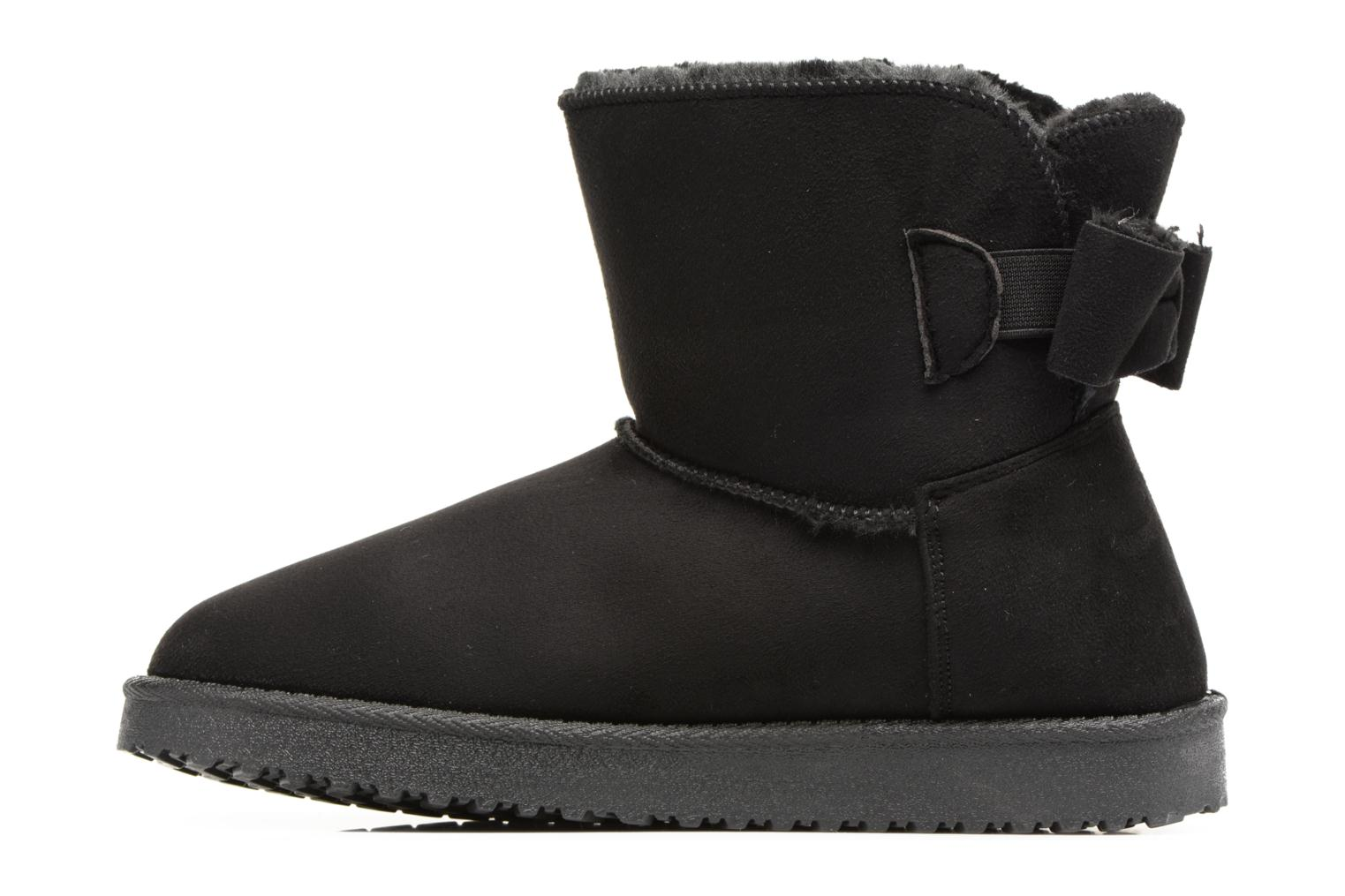 Ankle boots I Love Shoes THOUCHAUD Black front view