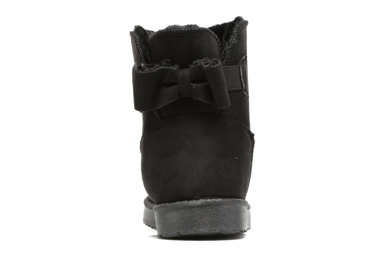 Ankle boots I Love Shoes THOUCHAUD Black view from the right