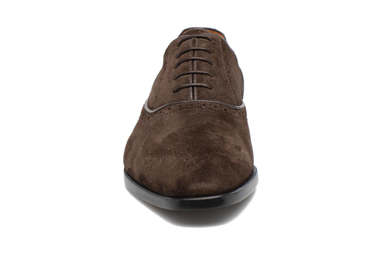 Chaussures à lacets Paul Smith Gilbert Marron vue portées chaussures